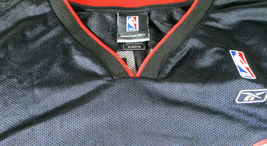 DWAYNE WADE / AUTOGRAPHED MIAMI HEAT BLACK PRO STYLE BASKETBALL JERSEY / COA image 5