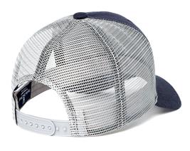 Psycho Bunny Men's Embroidered Snapback Mesh Mischief Baseball Cap Hat image 9
