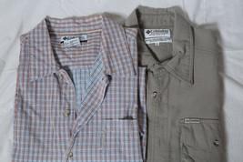 Columbia Sportswear Shirt mens large lot of 2 - $19.75