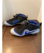 Nike Force Zoom Trout 4 Men Sz 14 Baseball Cleats Blue/Blk/Gray; Retail ... - $75.00