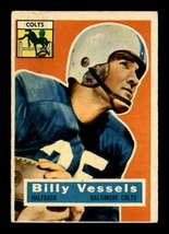 VINTAGE NFL 1956 Topps #120 Billy Vessels RC VGEX - $26.79
