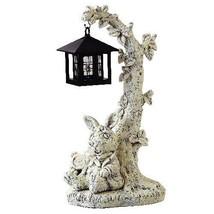 Disney Hanging garden solar light clock rabbit clock rabbits - $167.31