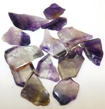 Amethyst Plate Natural Loose Gemstone Cabochon Lot Purple 501Cts. 13Pcs ... - $11.00