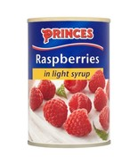 Princes Raspberries in Light Syrup 300g - $4.58
