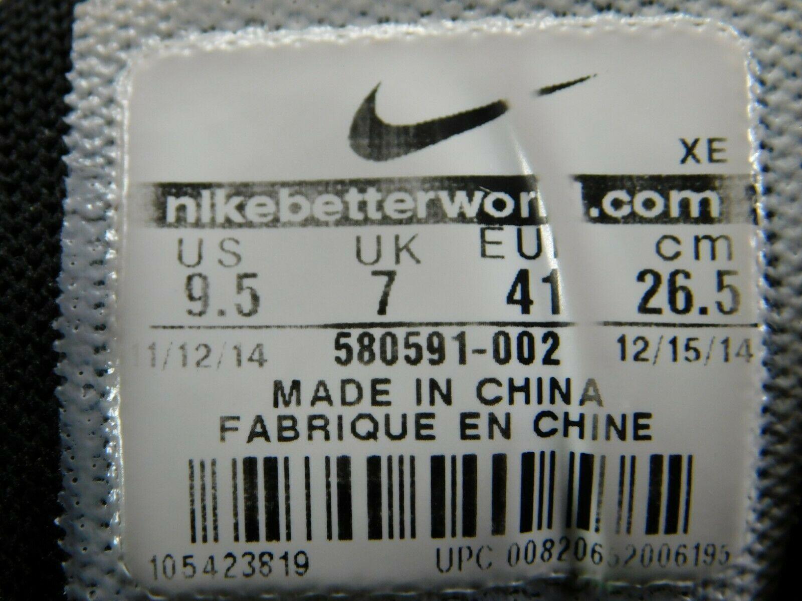Nike Free 5.0+ Size US 9.5 M (D) EU 41 Women's Running Shoes Black 580591-002 image 11