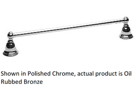 Newport Brass Seaport 24 Inch Towel Bar 12-02/10B in Oil Rubbed Bronze - $118.75