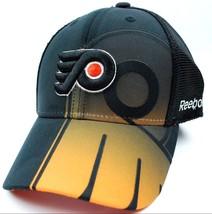 Philadelphia Flyers Reebok TS71Z NHL Team Logo Flex Fit Hockey Cap Hat - $21.95