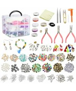 Roblue 1526PCS Jewelry Making Supplies Jewelry Beads and Charms Findings... - $42.27