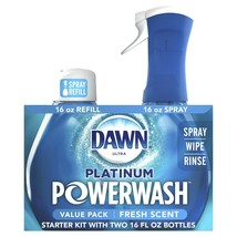 Dawn Platinum Powerwash Dish Spray, Fresh Scent Bundle, 2x16 fl oz - $17.75
