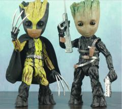 Marvel Avengers GOTG Cute Baby Tree Man Mix Wolverine Winter Soldier 25C... - $52.93+