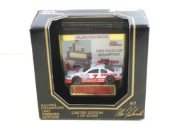 NASCAR Alan Kulwicki #7 Hooters 1:64 Car 1993 gold card Racing Champions... - $15.19