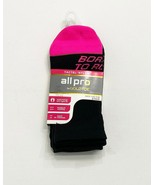 All Pro by Gold Toe Ankle Socks, 3 Pairs, Shoe Size 4-10, Soft & Smooth ... - $10.88