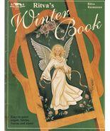 Tole Decorative Painting Ritva Rasmussen's Winter Xmas Fairies Angels Bo... - $37.99
