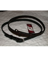 """Bobby's Tack BLACK Full Sz 1/2"""" Flash Strap Replacement w/Rounded Buckle - $22.00"""