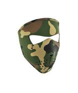 Balboa WNFMS118 Full Mask Small Neoprene - Woodland Camo - £8.60 GBP