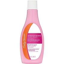 Sally Hansen Nail Polish Remover, Strengthening - 8 oz - $8.99