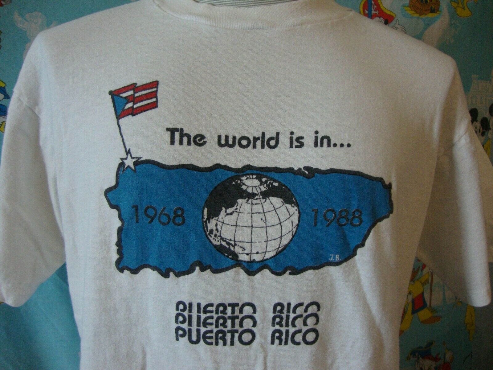 Primary image for Vintage 80's World Surfing Championships Puerto Rico T Shirt L