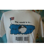 Vintage 80's World Surfing Championships Puerto Rico T Shirt L - $197.99