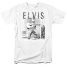 Elvis Presley T-shirt retro 50's distressed photo classic rock & roll tee ELV804 image 2