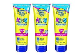Banana Boat Kids Tear Sunscreen Lotion SPF 50, 8 Ounce (Pack of 3) - $18.99