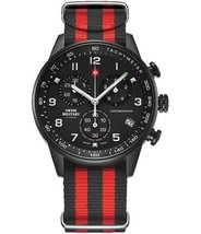 Swiss Military by Chrono Mens Watch Analogue Quartz with Nylon Wrist Ban... - $314.51