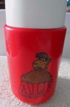 Vintage 1988 Alf TV Show Sitcom Plastic Red Retro From Lunch Box Thermos... - $14.46