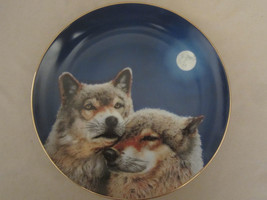 WOLF collector plate DEVOTION Eric Renk ETERNAL UNITY Danbury Mint WOLVES - $15.00