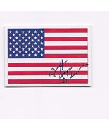 1991 SCORE AMERICAN FLAG SIGNED BY ANGIE DICKINSON  #737 - $3.00