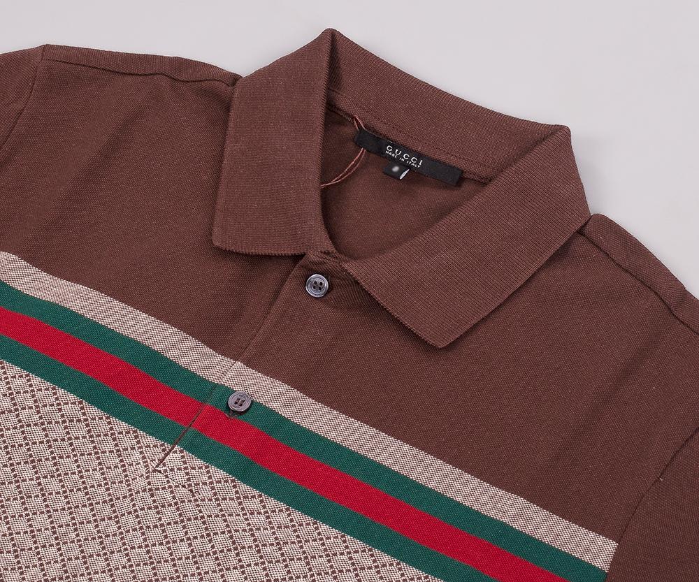 48a0920322a Mens Gucci Polo Shirt Ebay