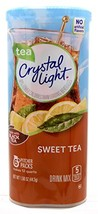 Crystal Light Sweet Tea, 12-Quart 1.56-Ounce Canister Pack Of 4