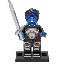 Single Sale Kurt Wagner Nightcrawler Marvel X-Men Apocalypse Minifigures Block - $3.95
