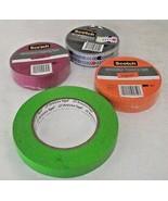 Scotch Decorative Masking Tape Expressions Tangerine Arrows Fuchsia Lime... - $24.74