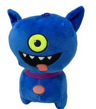 Ugly Doll Blue One Eye Dog Plush Soft Stuffed Animal Bat Ears10'' - $15.00