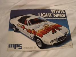 1/25 MPC White Lightning '69 Firebird Street Rod # 1-0781 F/S Bag 1 Set ... - $79.74