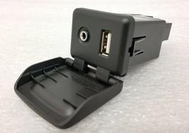 Cruze 2017-18 USB & Aux Input plug module for black center console. OEM.... - $39.91