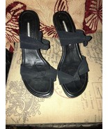 DONALD J PLINER Slick Spider Black Sandals Size 7M - $12.87
