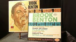 Brook Benton Sings The Boll Weevil Song + 11 Other Great Hits AA20-RC2110 Vintag image 3