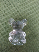 Crystal Clear Blown Glass Mouse Paperweight image 4