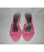 Neat Womens Size 8 JESSICA SIMPSON Wedge Sandal Shoes - $31.75