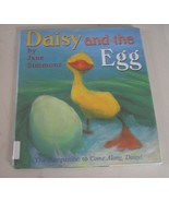 Daisy and the Egg by Jane Simmons (1999, Hardcover) - $4.56