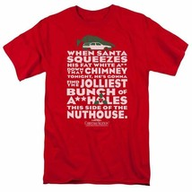 National Lampoon's Christmas Vacation t-shirt Griswold red graphic tee WBM652 image 1