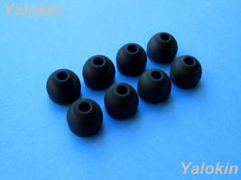 8pcs (Black) Large Replacement Eartips Set for Jaybird Bluebuds X Headphones - $11.85