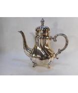 Eugen Ferner Sterling Coffee Pot 925 Dated 1963 Original Patina - $1,183.05