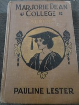 HARD COVER BOOK MARJORIE DEAN COLLEGE SENIOR BY PAULINE LESTER - $13.99