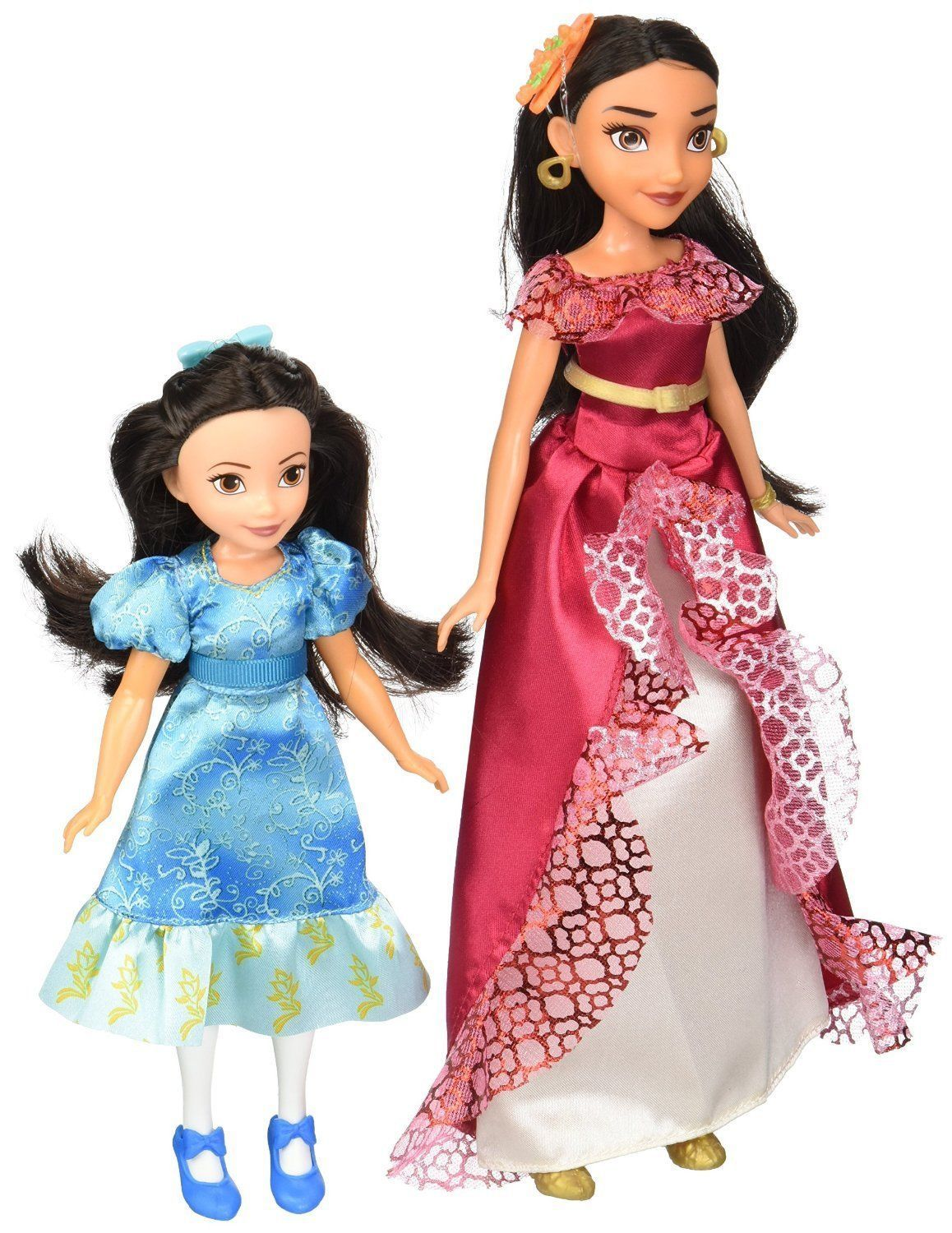 Disney Elena of Avalor & Princess Isabel Doll 2-Pack Set, Hasbro, 3+