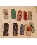 Vintage Car Lot Made In Italy Jaguar Mercury Citroen Fiat + More 1960s I... - £35.40 GBP