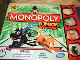 Monopoly Junior Game  - Board Game - $10.00