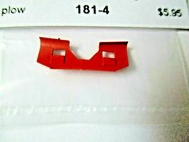 Trainworx Stock #181-4 Snowplow Tall Western WP Orange N-Scale image 1