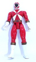 1999 Power Rangers Lightspeed Rescue: Red Lightspeed Power Ranger Action... - $14.01
