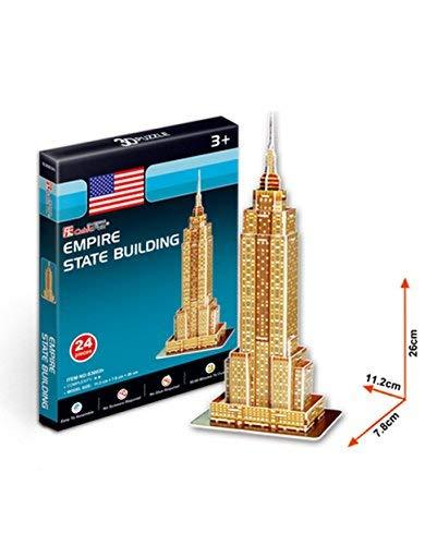 PANDA SUPERSTORE Empire State Building Three-Dimensional Building of Manual Asse